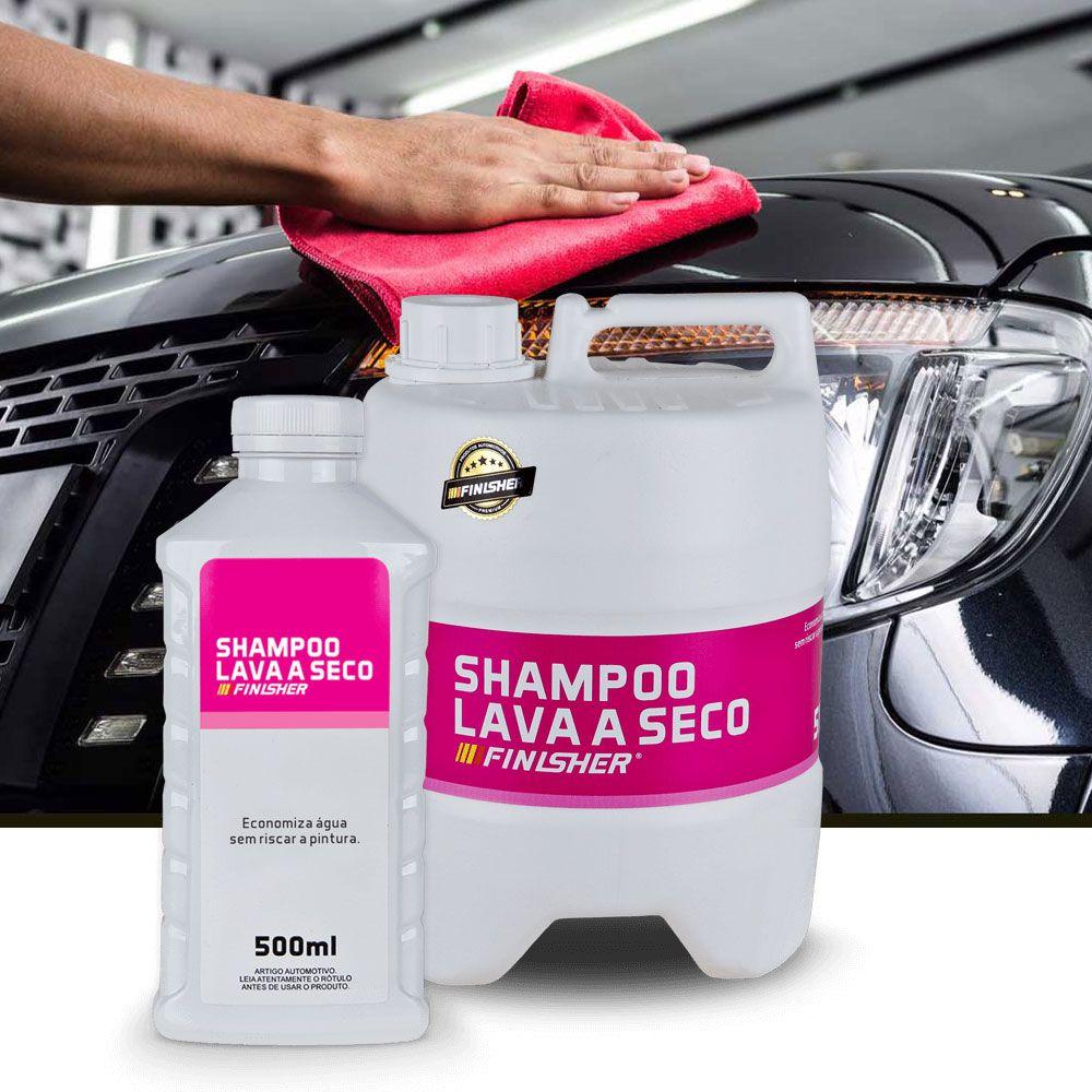 Shampoo Detergente Lava a Seco Automotivo Finisher 5 Litros