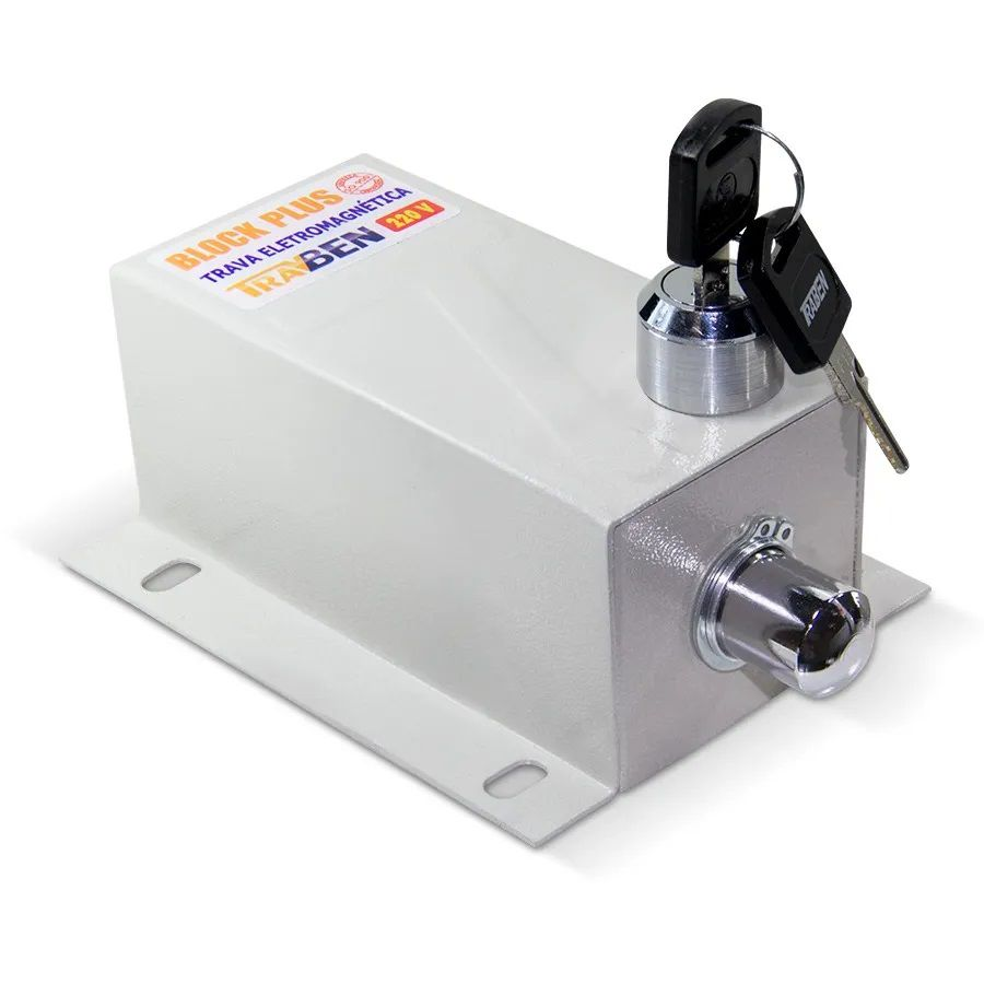 Trava Elétrica com Temporizador Block Plus - TravBen