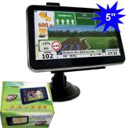 "GPS Foston FS-503DT c/ TV Digital - Tela 5"" - Igo8, Amigo e Primo"