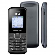Celular LG B220 Dual Chip, Rádio FM, Lanterna, Desbloqueado - Preto