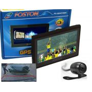 GPS Foston FS-3D473 DC - c/ Câmera de Ré, TV Digital, Tela 4,3