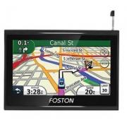 GPS Foston FS-790GT - Igo Atualizado - c/ Câmera de Ré, TV Digital, Tela 7