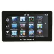 """GPS Powerpack BR-7038 ISDB-T Atualizado - Câmera de Ré, TV, Tela 7"""""""