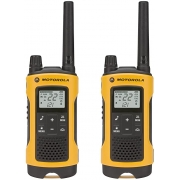 Walkie Talkie Motorola T402 - 56 Km / 35 milhas - Bivolt - Talkabout