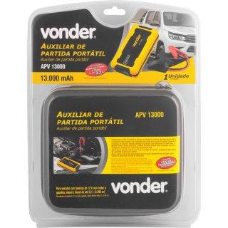Auxiliar de Partida Veicular Portátil Vonder APV 13000  - COMPRAS VIA NET