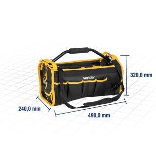 Bolsa em lona para ferramentas, cabo tubular - Vonder BL 004  - COMPRAS VIA NET