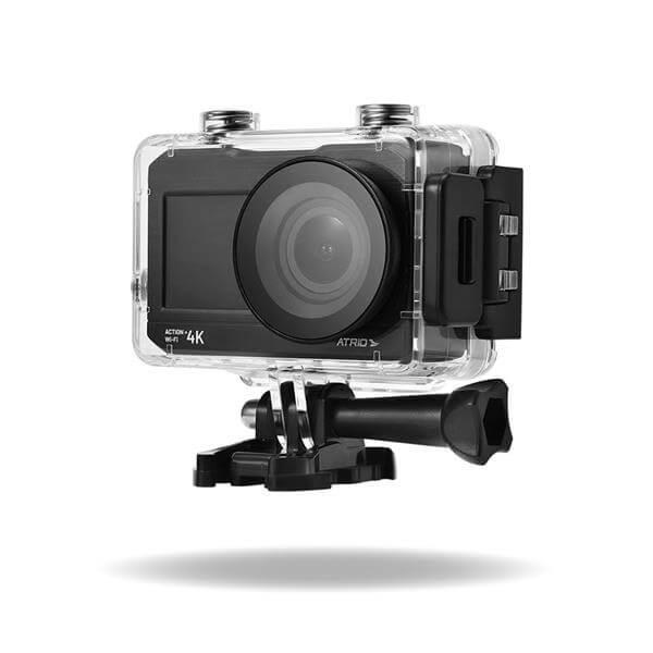 Câmera de Ação Action 4k Wifi - Tela Lcd 2 Pol, 16mp, 30 Fps, 900 Mah + Selfie - Dc191  - COMPRAS VIA NET