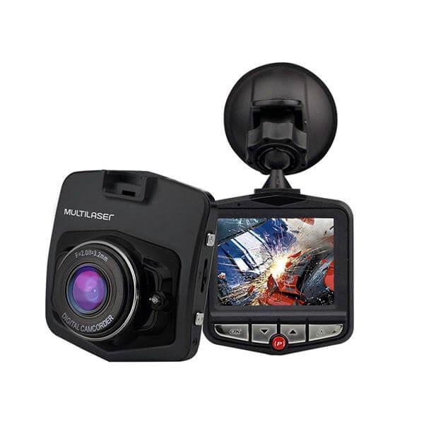 Câmera Veicular DVR 1080p HD Multilaser - AU021  - COMPRAS VIA NET