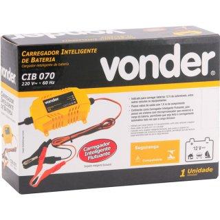 Carregador Inteligente de bateria Vonder - CIB 070  - COMPRAS VIA NET