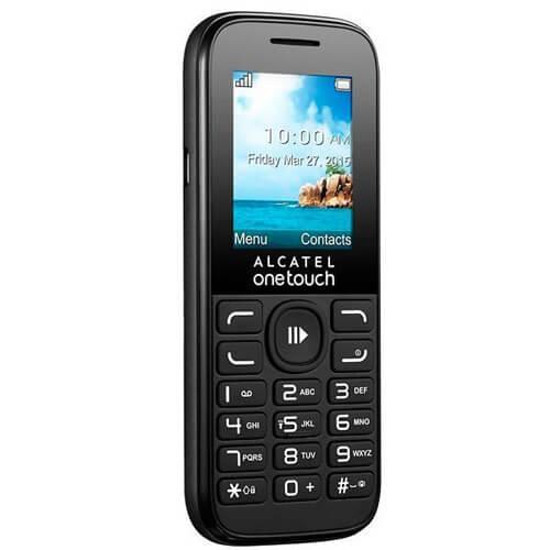 Celular Alcatel OneTouch 1052D - Câmera VGA - Dual SIM   - COMPRAS VIA NET