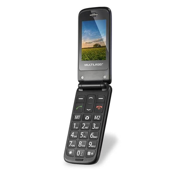 Celular Flip Multilaser Vita Dual Chip MP3 - P9020  - COMPRAS VIA NET