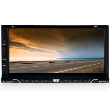 """Central Multimídia Universal Ecopower EP-8723 - Android - GPS - Câmera de Ré - Bluetooth - 6.95""""  - COMPRAS VIA NET"""