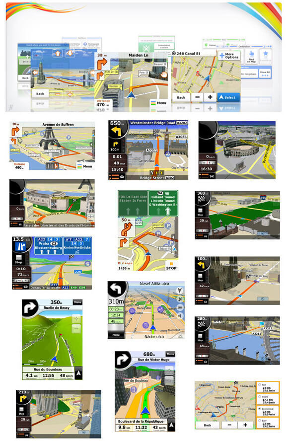 """GPS Multilaser Tracker 4.3"""" - GP035 - com Câmera de Ré - Igo Atualizado  - COMPRAS VIA NET"""