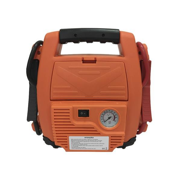 Kit emergencial 4 em 1 - auxiliar de partida, compressor de ar, lanterna, saída usb - Multilaser  - COMPRAS VIA NET