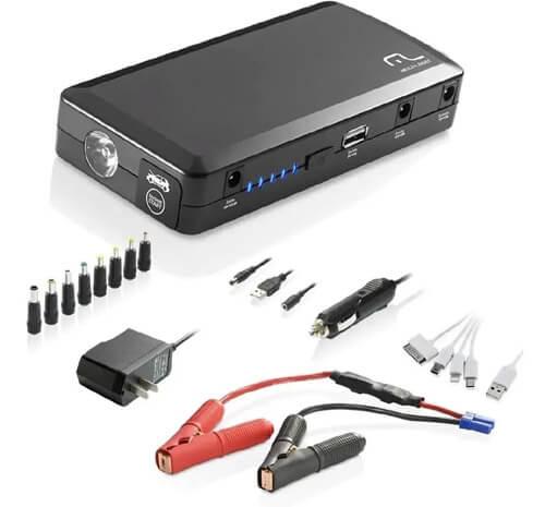 Mini Auxiliar de partida automotiva 3 em 1 - Multilaser AU606G  - COMPRAS VIA NET