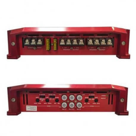 Modulo Amplificador Roadstar Rs-4300br Ab 1500W 4 Canais  - COMPRAS VIA NET