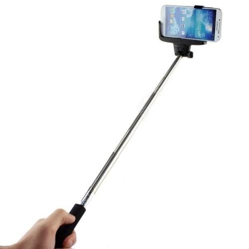 Bastão de Selfie com controle e Zoom no cabo, Monopod RoHS  - COMPRAS VIA NET