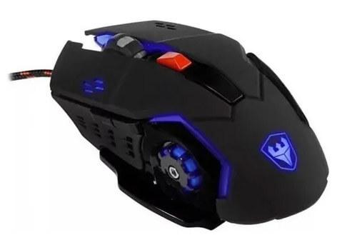 Mouse Gamer Satellite A-92 4800 Dpi 6 Botoes  - COMPRAS VIA NET