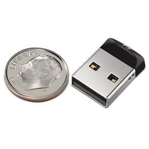 Pen Drive SanDisk Cruizer Blade Fit (SDCZ33) - 32Gb  - COMPRAS VIA NET