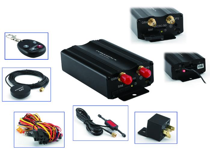 Rastreador Veicular Powerpack GPS-TK1103  - COMPRAS VIA NET