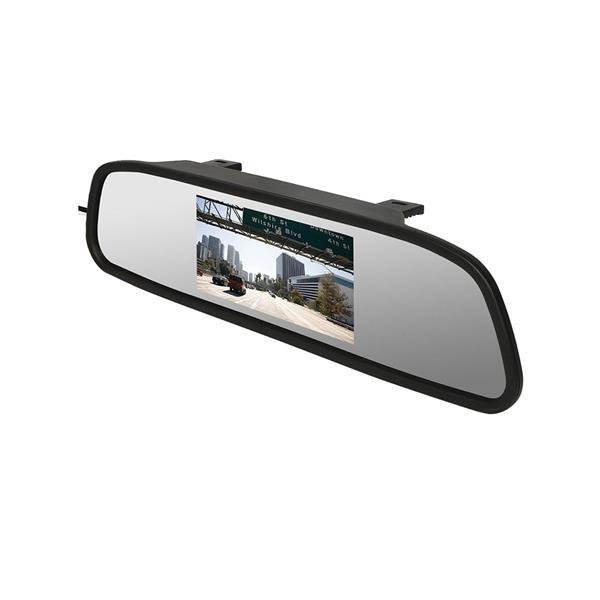Retrovisor 180 com câmera de ré 4,3 Polegadas  - COMPRAS VIA NET