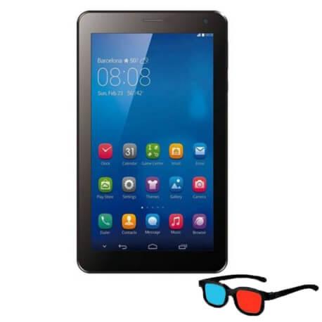 "Tablet Ipro 7"" Speed-3 - 32GB - 2Gb Ram - GPS - Câmera - 3G - Dual Sim - Preto  - COMPRAS VIA NET"
