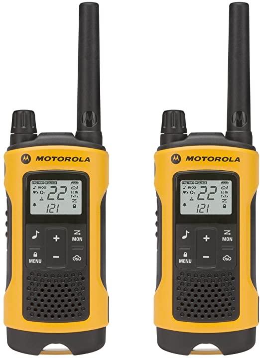 Walkie Talkie Motorola T402 - 56 Km / 35 milhas - Bivolt - Talkabout  - COMPRAS VIA NET