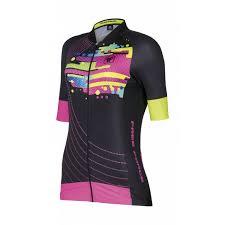 Camisa Ciclismo Free Force Feminina JELLY Preto