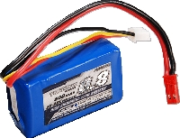 LiPo Turnigy 2s 7,4v 800mah 20/30C  - King Models