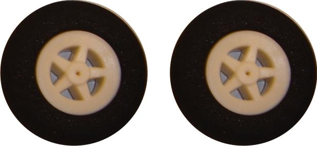 Roda de Espuma Emborrachada 35mm (PAR)  - King Models