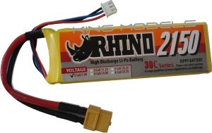 Lipo Zippy/Rhino 2s 7,4v 2150mah 30/40C  - King Models