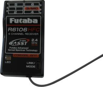 Receptor Futaba Fast 6 Canais - R6106hfc  - King Models