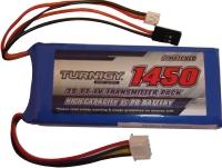 Bateria Lipo Para Transmissor - Modelo Flat - 1450mah  - King Models