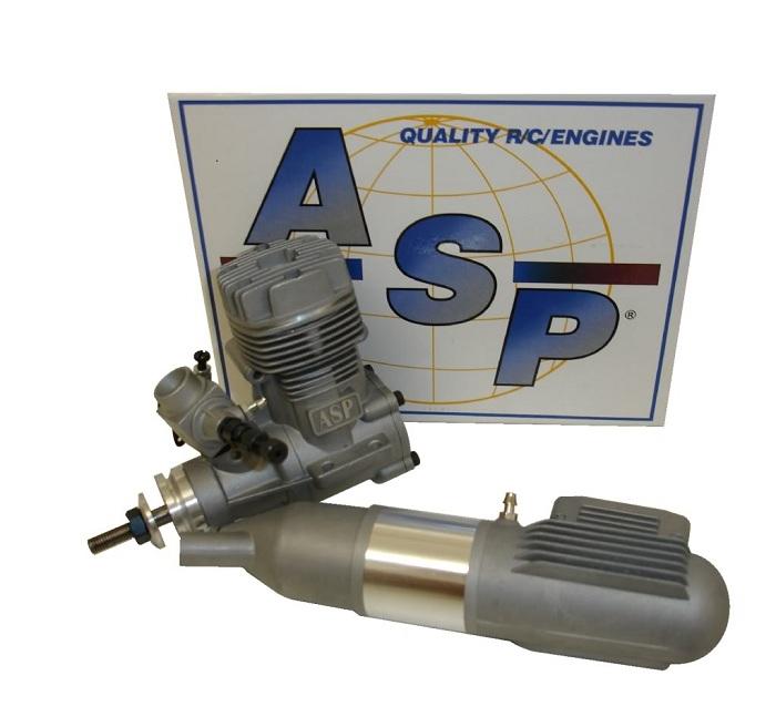 Motor Glow - Asp 52a - 2 Tempos - Rolamentado  - King Models