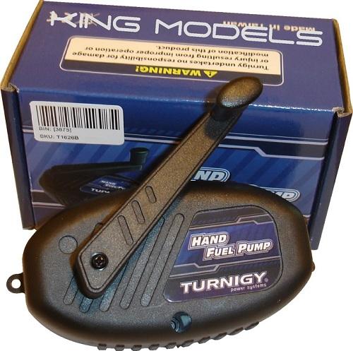 Bomba de abastecimento manual para motores a combustão + Acessórios  - King Models