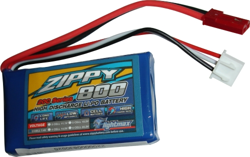 Lipo Zippy/Flightmax 2s 7,4v-20/30c - 800mah - Aero/heli  - King Models