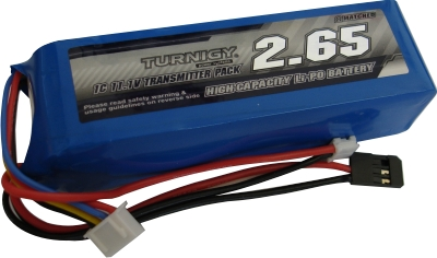 Bateria Lipo Para Transmissor - Modelo Torre - 2650mah  - King Models
