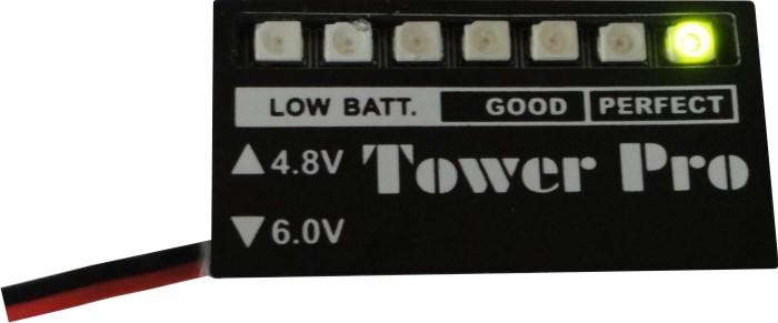 Monitor De Carga De Bateria Nimh E Nicd - 4,8 Ou 6,0v  - King Models