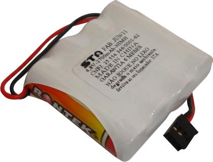Pack Bateria Nimh 4,8v - 2700mah Aeros Combustão-Flat  - King Models