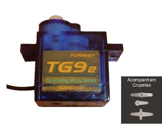 Micro Servo 9g Turnigy TG9e Qualidade Aliada A Preço Baixo!!  - King Models