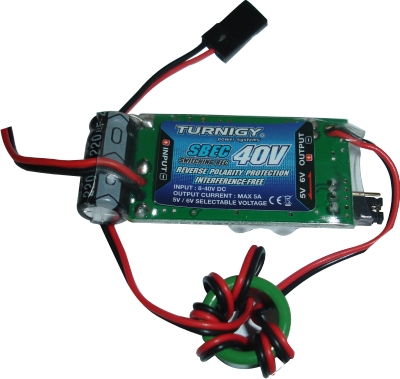Super Bec Regulador De Voltagem - Turnigy(40V) - 5-6v - 5a  - King Models