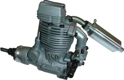 Motor Glow - Asp 61a - 4 Tempos - Rolamentado  - King Models
