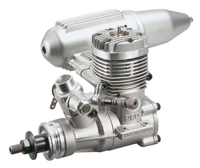 Motor Glow - Thunder Tiger Pro - 2 Tempos .61- Rolamentado  - King Models