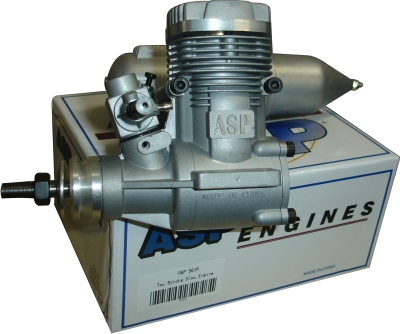 Motor Glow - Asp 61a - 2 Tempos - Rolamentado  - King Models