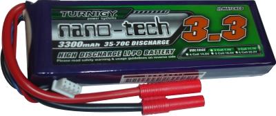 Lipo Turnigy Nano Tech - 3s 11,1v-35/70c - 3300mah -confira!  - King Models