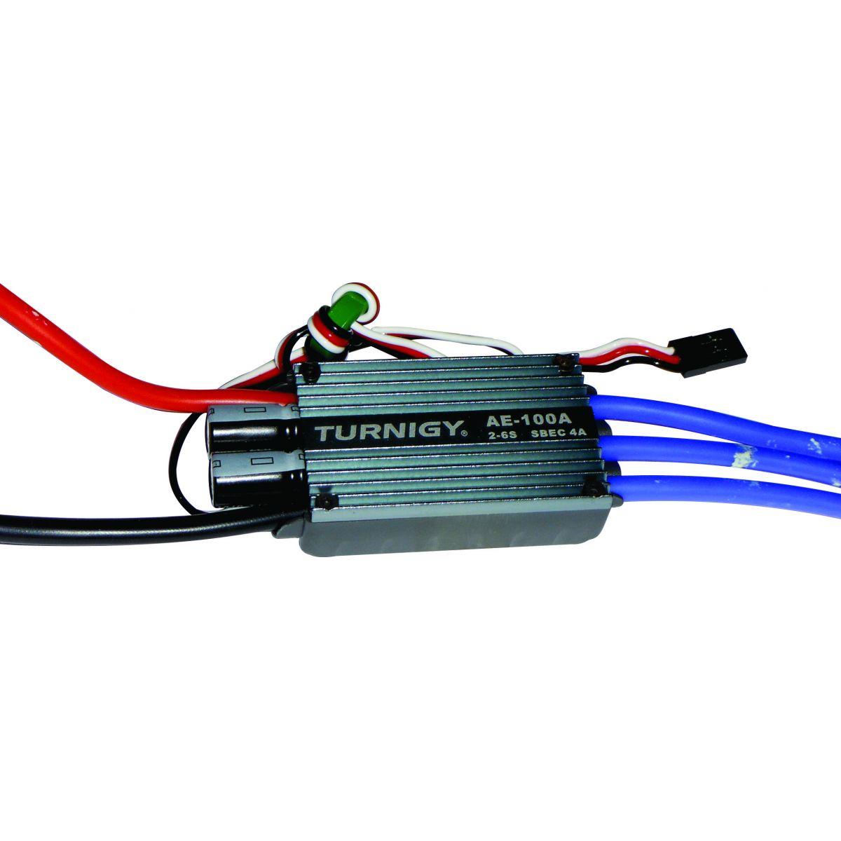 Speed Control Turnigy Ae 100a Com Super Bec 4a Integrado  - King Models