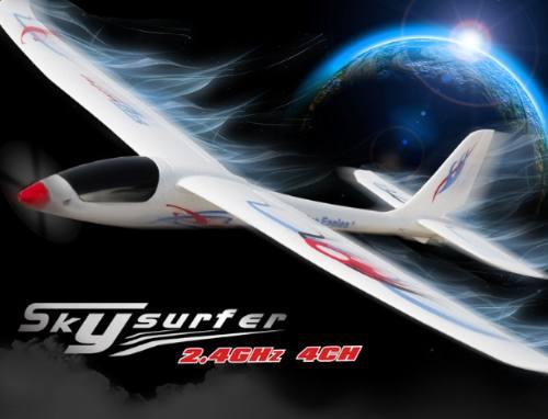 Motoplanador Nine Eagle - Skysurfer 4ch - Pronto Para Voar!  - King Models