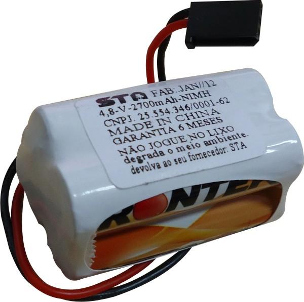 Pack Bateria Nimh 4,8v - 2700mah Aeros Combustão-Torre  - King Models