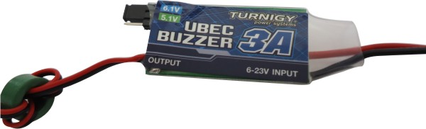Super Bec Regulador De Voltagem Com Buzzer - 5-6v - 3a  - King Models