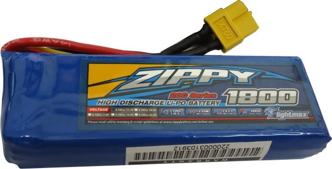 Lipo Zippy/flightmax 3s 11,1v -20/30 - 1800mah  - King Models